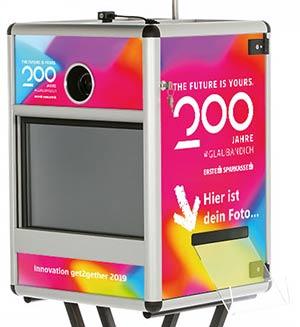 Fotobox Branding ErsteBank