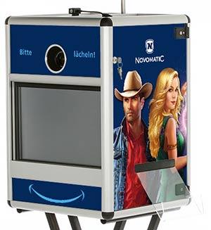 Fotobox Branding Novomatic