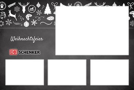 Fotobox Weihnachtsfeier DB Schenker
